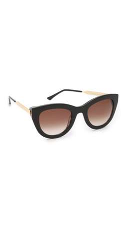 Thierry Lasry Cupidity Sunglasses - Black/Brown