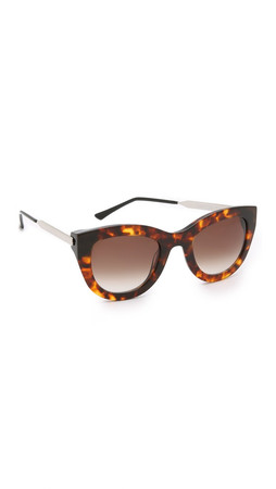 Thierry Lasry Cupidity Sunglasses - Tortoise/Brown