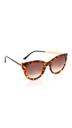 Thierry Lasry Dirty Mindy Sunglasses - Tortoise/Black