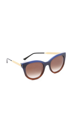 Thierry Lasry Lively Sunglasses - Brown Lavender/Brown