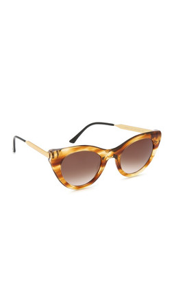 Thierry Lasry Perky Sunglasses - Blonde Tortoise/Brown