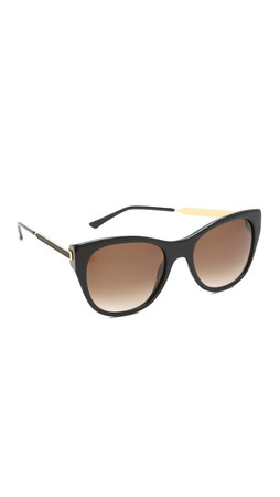 Thierry Lasry Strippy Sunglasses - Black/Brown Gradient