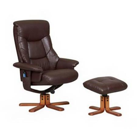 Tokyo Massage Relaxer Chair - Brown