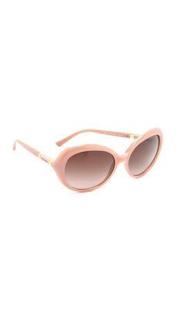 Tory Burch Classic Sunglasses - Blush/Dark Brown Gradient