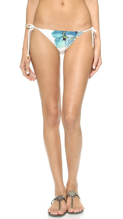 Tory Burch Persica Bikini Bottoms - Ivory Persica