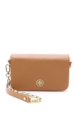 Tory Burch Robinson Adjustable Mini Bag - Tiger'S Eye