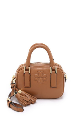 Tory Burch Thea Mini Satchel - Bark