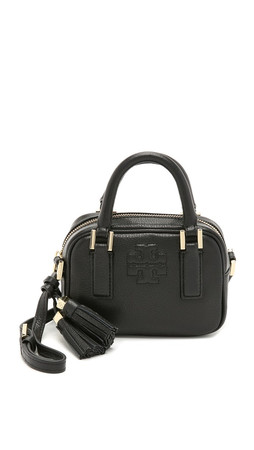 Tory Burch Thea Mini Satchel - Black