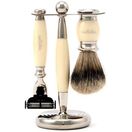 Truefitt & Hill Men's Shaving set Edwardian Faux Ivory