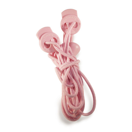 Ultimate Performance Elastic Lock Laces - One Size Hot Pink