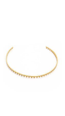 Vanessa Mooney Hells Bells Choker Necklace - Gold