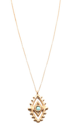 Vanessa Mooney Through The Clouds Necklace - Gold Multi