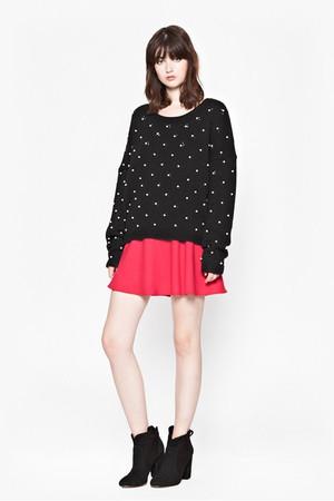 Velma Knitted Jumper - Black