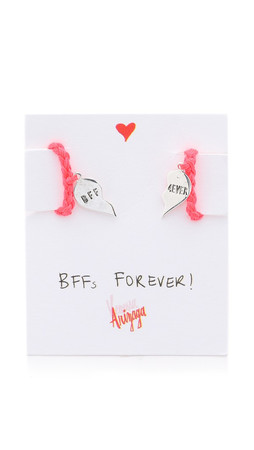 Venessa Arizaga Bffs Forever Friendship Necklace - Hot Pink