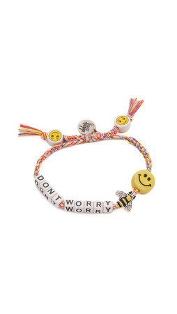Venessa Arizaga Dont Worry Bee Happy Bracelet - Sunset Melange