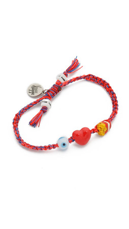 Venessa Arizaga I Love Fries Bracelet - Plum Melange