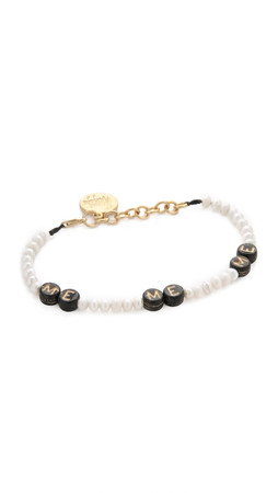 Venessa Arizaga Me Me Me Bracelet - Pearl Multi