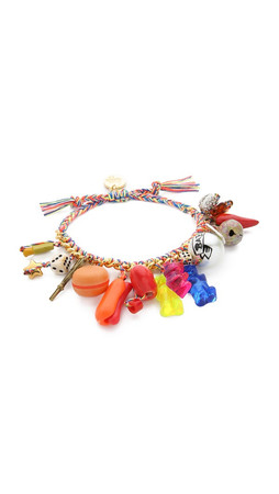 Venessa Arizaga Party City Bracelet - Gold Multi