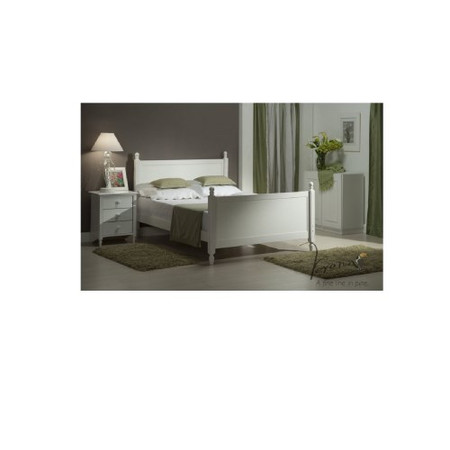 Verona Design Florence Kingsize Bed Frame in White