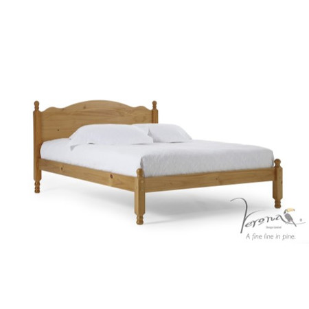 Verona Design Ltd Roma Small Single Bed Frame in Antique Pine