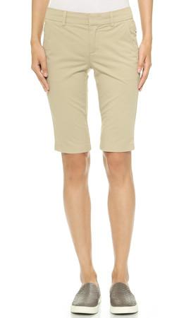 Vince Vintage Wash Bermuda Shorts - Lt.Khaki