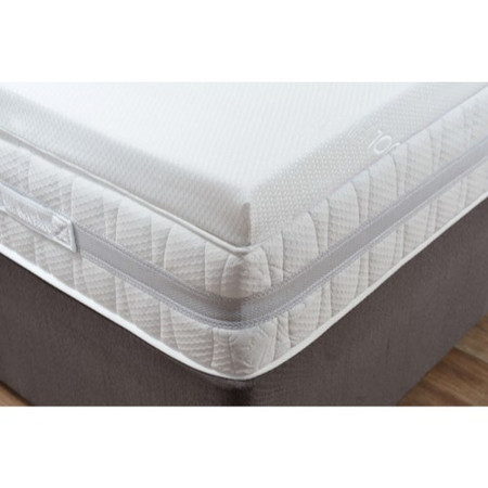 Visco Therapy Topper 5000 4FT6 Double Memory Foam Topper with Cover