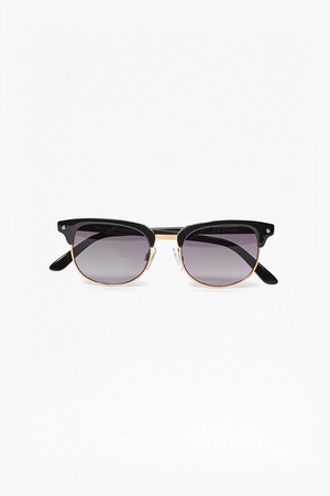 Wayfarer Sunglasses - Rose Gold/Black