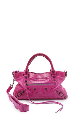 What Goes Around Comes Around Balenciaga Classic First Bag (Previously Owned) - Pink