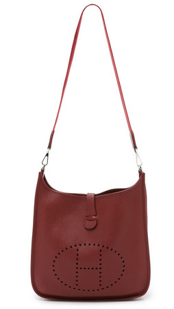 What Goes Around Comes Around Hermes Evelyne Ii Bag (Previously Owned) - Red