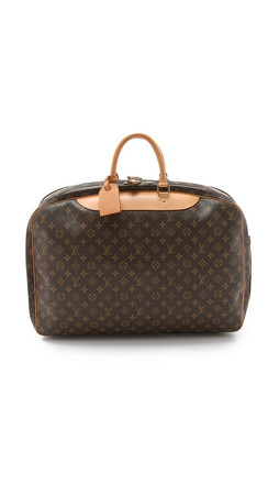 What Goes Around Comes Around Louis Vuitton Alize Bag - Lv Print