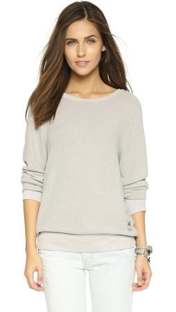 Wildfox Basic Pullover - Grey