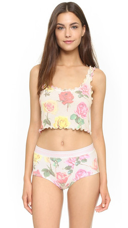 Wildfox Bright Roses Cami - Multi