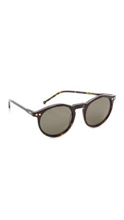 Wildfox Steff Sunglasses - Tokyo Tortoise/Brown Gradient