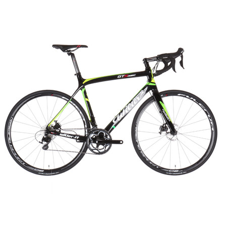Wilier GTS Disc 105 - L Black/Green | Road Bikes