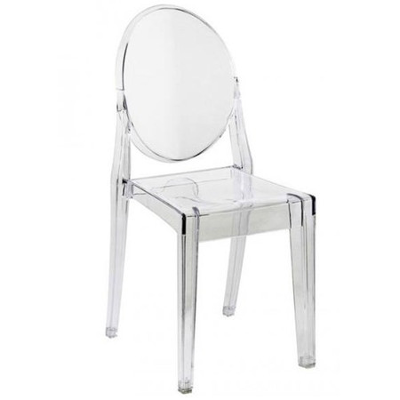 Wilkinson Furniture Set of 4 Clear Puro Chairs