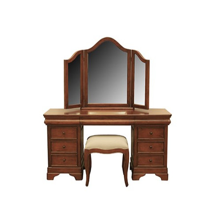 Wilkinsons Julienne Mahogany Dressing Table Mirror and Stool