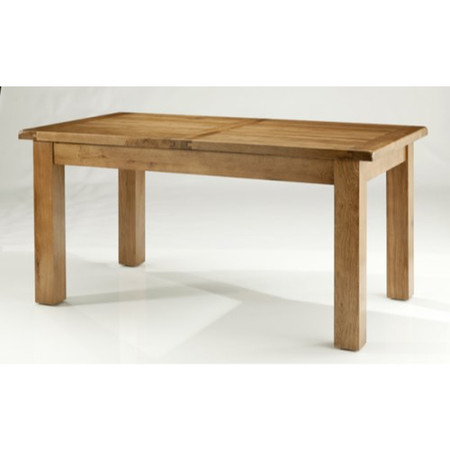 Willis Gambier Originals Bretagne Solid Oak Fixed Top Rectangular Dining Table