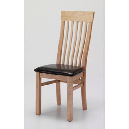 Willis Gambier Originals Portland Solid Ash Slat Back Dining Chair