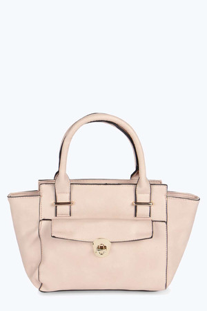 Winged Day Bag nude