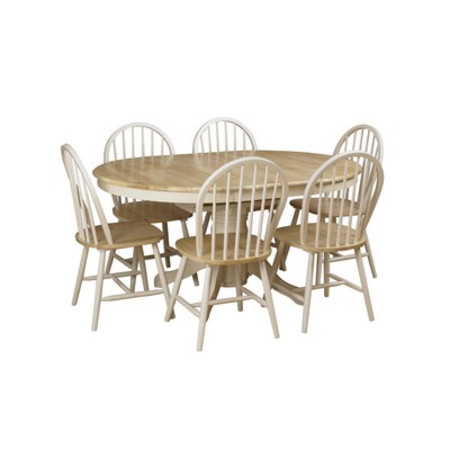 York Extending Table + 6 Chairs