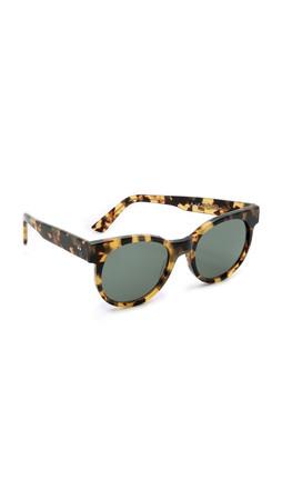 Zanzan Avida Dollars Sunglasses - Tokyo Tortoiseshell/Green