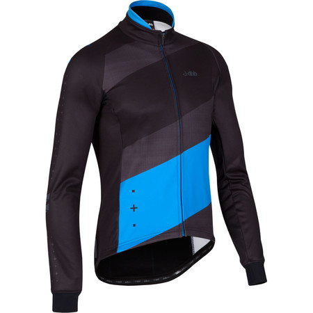 dhb ASV Roubaix Long Sleeve Jersey - Medium Black/Blue