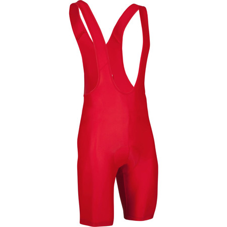 dhb Active Padded Cycling Bib Shorts - Extra Large Red