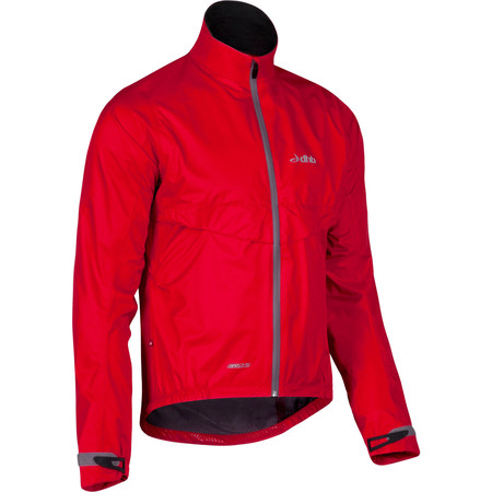 dhb EQ2.5 Waterproof Cycling Jacket - Extra Large Red