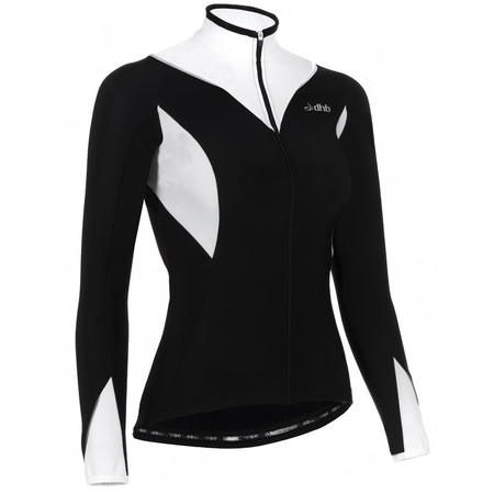 dhb Ladies Vaeon Roubaix Long Sleeve Jersey - UK 12 Black