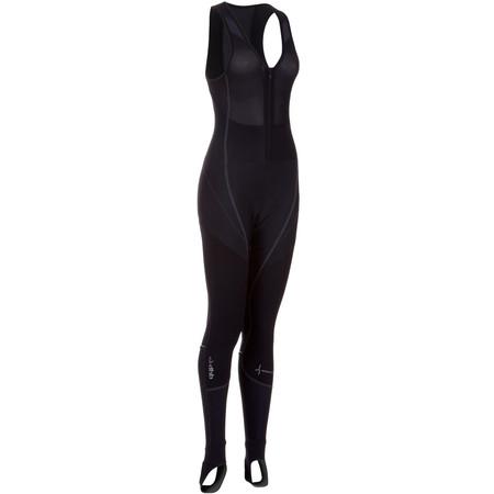 dhb Ladies Vaeon Zero Padded Bib Tight - UK 10 Black | Cycle Tights