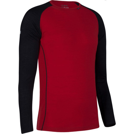 dhb Merino Long Sleeve Base Layer M_150 - X Small Red | Base Layers
