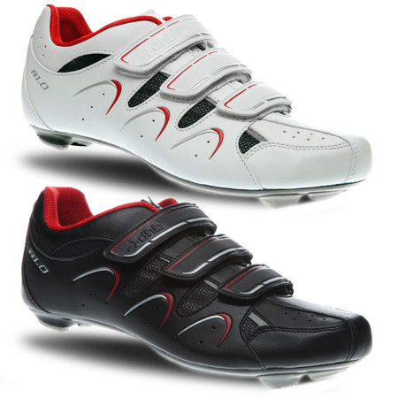 dhb R1.0 Road Cycling Shoe - 37 White/Red | Road Shoes