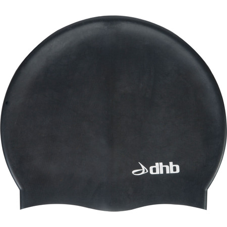 dhb Silicon Swim Cap - One Size Black | Swimming Caps