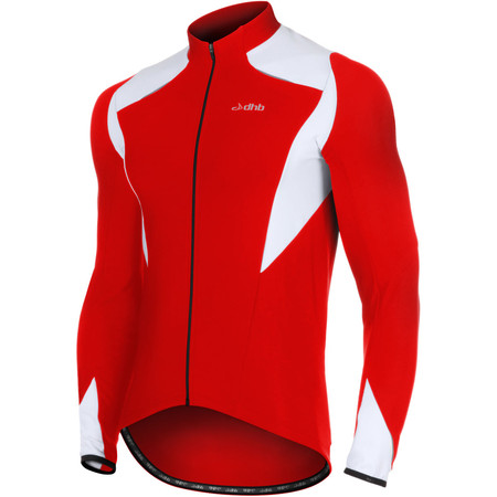 dhb Vaeon Roubaix Long Sleeve Jersey - Extra Extra Large Red